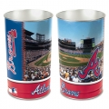 "Atlanta Braves MLB 15"" Tapered Wastebasket"