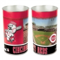 "Cincinnati Reds MLB 15"" Tapered Wastebasket"