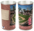 "St. Louis Cardinals MLB 15"" Tapered Wastebasket"