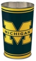 "Michigan Wolverines NCAA 15"" Tapered Wastebasket"