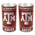"Texas A&M Aggies NCAA 15"" Tapered Wastebasket"