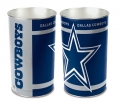 "Dallas Cowboys NFL 15"" Tapered Wastebasket"