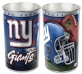 "New York Giants NFL 15"" Tapered Wastebasket"