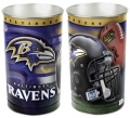 "Baltimore Ravens NFL 15"" Tapered Wastebasket"
