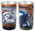 "Denver Broncos NFL 15"" Tapered Wastebasket"