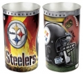 "Pittsburgh Steelers NFL 15"" Tapered Wastebasket"