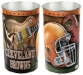 "Cleveland Browns NFL 15"" Tapered Wastebasket"