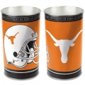 "Texas Longhorns NCAA 15"" Tapered Wastebasket"