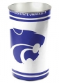 "Kansas State Wildcats NCAA 15"" Tapered Wastebasket"
