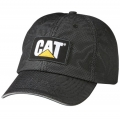 CAT Reflective Workwear Black Mesh Cap