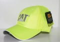 Caterpillar CAT Hi-Vis Safety Yellow Trademark Cap