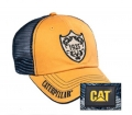 Caterpillar CAT Mustard & Navy 1925 Shield Mesh Cap