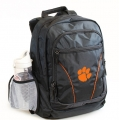 Clemson Tigers NCAA 2 Strap Laptop Backpack-FREE SHIPPING