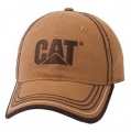 Caterpillar CAT Wheat Canvas Cap