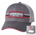 Kenworth Charcoal/Gray Front Patch Cap