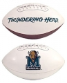 Marshall Thundering Herd Embroidered Signature Series Football