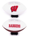 Wisconsin Badgers Full Size Embroidered Football