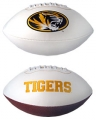 Missouri Tigers Embroidered Signature Series Football
