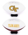 Georgia Tech Yellow Jackets Embroidered Signature Series Football