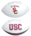 USC Trojans Embroidered Signature Series Football