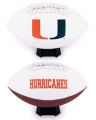 Miami Hurricanes Embroidered Signature Series Football