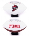 Iowa State Cyclones Embroidered Signature Series Football