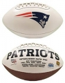 New England Patriots Embroidered Signature Series Football