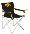 Iowa Hawkeyes NCAA Deluxe Nylon Tailgate Chair