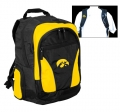 Iowa Hawkeyes NCAA 2 Strap Laptop Backpack-FREE SHIPPING
