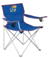 Kansas Jayhawks NCAA Deluxe Nylon Tailgate Chair