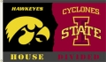 Iowa Hawkeyes/ Iowa State Cyclones Rivalry 3 x 5 Flag