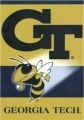 "Georgia Tech Yellow Jackets NCAA  28"" x 40"" 2-Sided Banner"