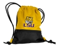 LSU Tigers NCAA Yellow School String Pack Backpack