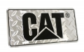 Caterpillar CAT Equipment Aluminum Diamond Plate Novelty License Plate