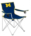 Michigan Wolverines NCAA Deluxe Nylon Tailgate Chair