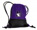 Northwestern Wildcats NCAA School String Pack Backpack
