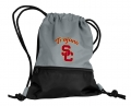 USC Trojans NCAA Gray School String Pack Backpack