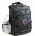 South Carolina Gamecocks NCAA 2 Strap Laptop School Backpack-FREE SHIPPING