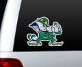 "Notre Dame Fighting Irish NCAA Logo Glass Tatz """"Cutz"""" Window Graphic/Decals"