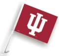Indiana Hoosiers NCAA Car Flag