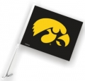 Iowa Hawkeyes NCAA Car Flag