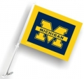 Michigan Wolverines NCAA Car Flag