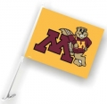 Minnesota Golden Gophers NCAA Car Flag