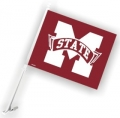 Mississippi State Bulldogs NCAA Car Flag