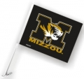 Missouri Tigers NCAA Car Flag
