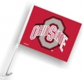 Ohio State Buckeyes NCAA Car Flag