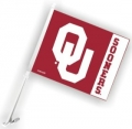 Oklahoma Sooners NCAA Car Flag