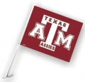 Texas A&M Aggies NCAA Car Flag