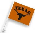 Texas Longhorns NCAA Car Flag