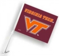 Virginia Tech Hokies NCAA Car Flag
